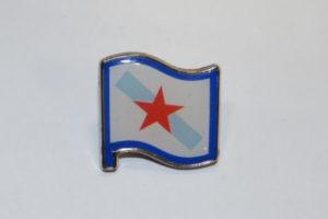 Pin coa bandeira da Patria Galega
