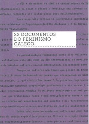 22 documentos do feminismo galego